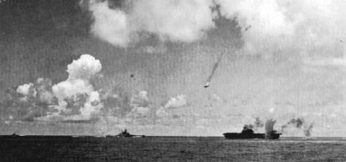 Un Val è abbattuto mentre cerca di attaccare la portaerei statunitense Enterprise