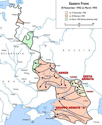 La mappa delle operazioni.