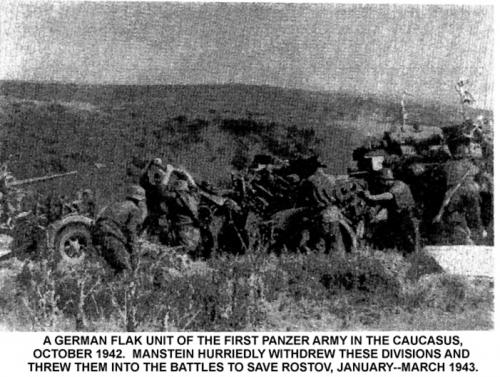 Un unità flak tedesca nel Caucaso