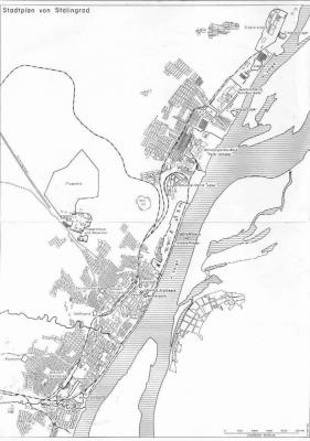 Una mappa operativa della città.