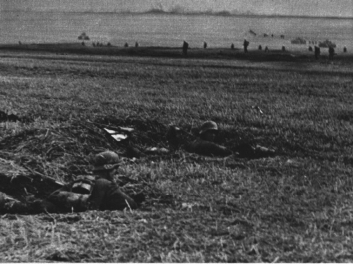Soldati in avanzata