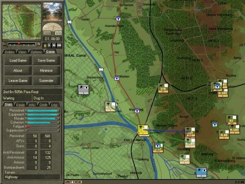 Il 2° Battaglione Parà del 505° Reggimento della 82ª Divisione USA