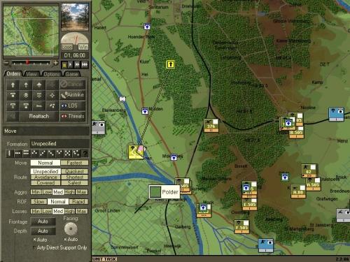 Il 2° battaglione muove nel bosco