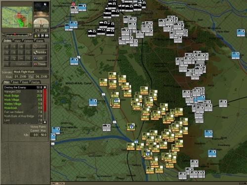 La 82ª Divisione Paracadutisti USA è completamente circondata a sud di Nijmegen.