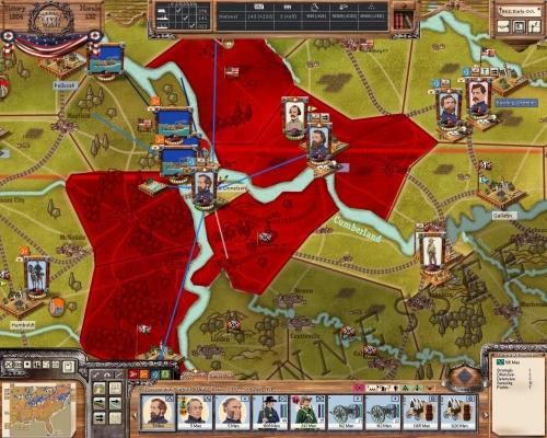 Rosecrans inchiodato nell'assedio di Fort Donelson: vincere o morire