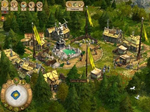 Fondato il centro del villaggio