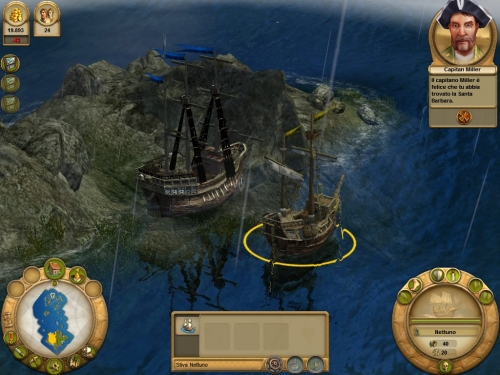 Una nave fantasma! Che tesori conterrà?