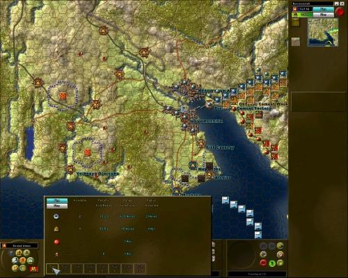 La grafica è quasi identica a quella della serie Decisive Battles, ma è stata introdotta la risoluzione 1280*1024