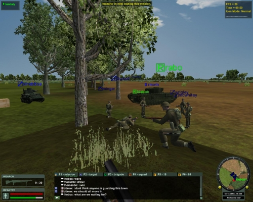 Gli alleati preparano un gruppo di assalto