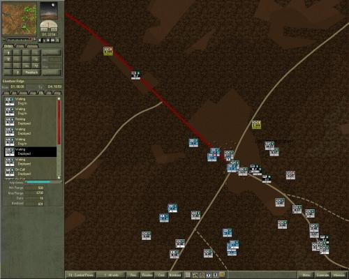 Verso le 23 le prime unità di Peiper superano Losheimergraben; l'avanguardia si scontra con truppe fuggite dal villaggio.