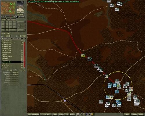 Un HQ contro una intera colonna corazzata SS: e mi farà perdere un sacco di tempo.