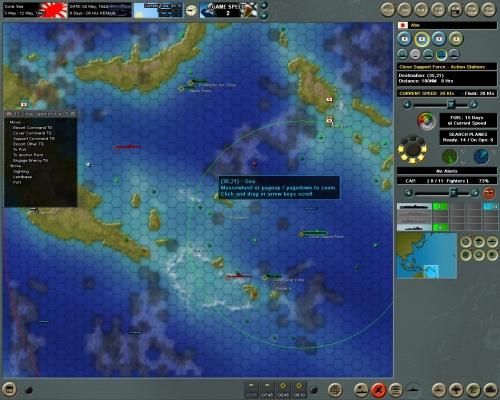 I nostri ricognitori ci segnalano l'avvistamento di un gruppo nemico a poca distanza dalle nostre portaerei…