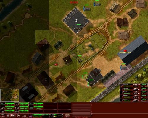 """La modalità """"deployment"""", in cui possiamo schierare le nostre truppe. Prudenza..."""