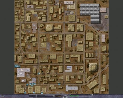 Con mappe come questa e un pessimo pathfinding la giocabilità è scarsina
