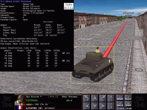 Dati tecnici di un M4A2 Sherman