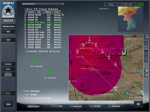 Per pianificare una missione è importante valutare la posizione delle difese aeree nemiche