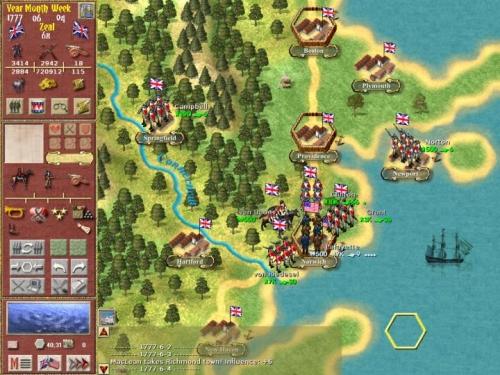 La mappa strategica, Norwich è circondata