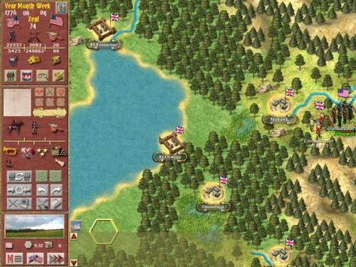 L'area dei grandi laghi, indiani e forti sperduti