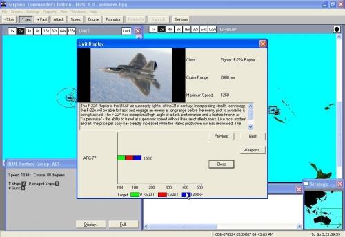Il gioiello della tecnologia americana in fatto di aerei, l'F-22 Raptor, l'unico caccia dotato di tecnologia stealth.