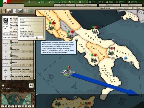 Le missioni navali...