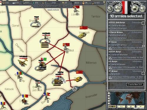 Armate tedesche in marcia verso il caucaso