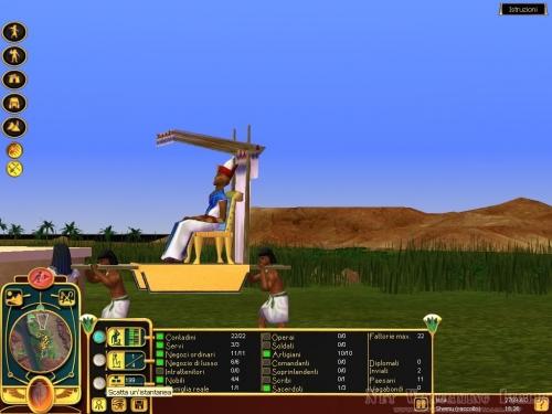 La passeggiata del faraone;