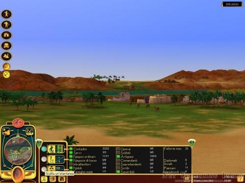 La verde riva del Nilo;