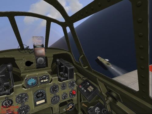 Cockpit di uno Zero