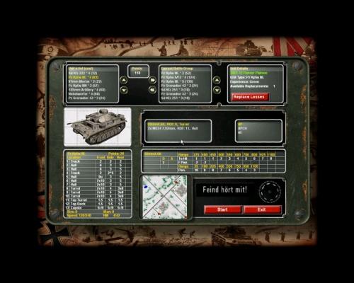 La schermata di acquisto delle unità. Un altro plotone di Panzer fa sempre comodo…