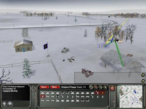 Truppe tedesche conquistano l'obiettivo…