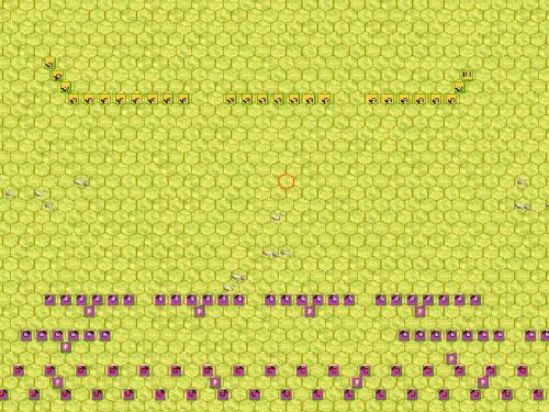 Compare il nemico. Cosa si nasconderà dietro la sottile linea di fanteria leggera?