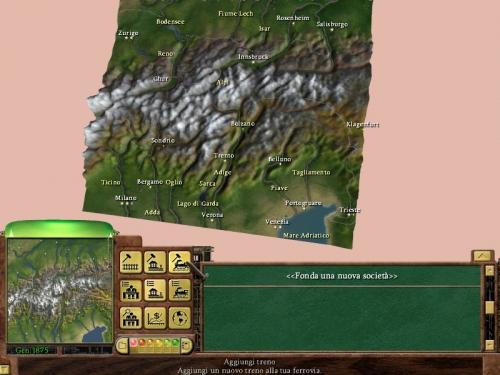 Mappa dello scenario facente parte della campagna del gioco