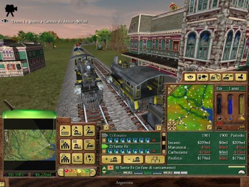 Il gioco permette di seguire un treno lungo tutto il suo tragitto e godersi così il paesaggio