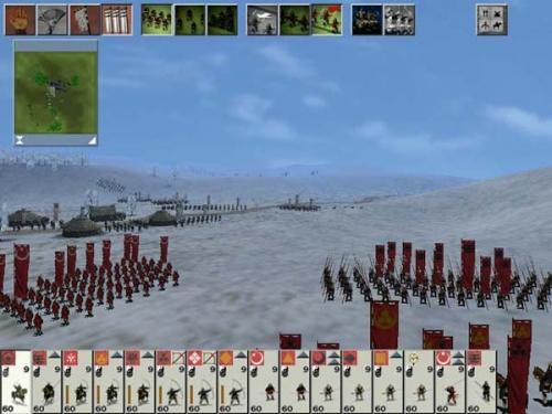 Schieramente delle truppe