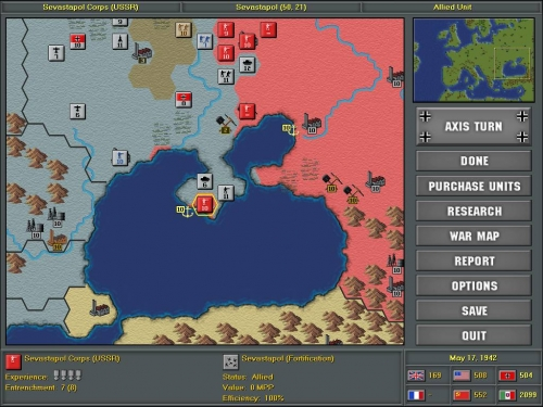 Una città fortificata come Sebatopoli può resistere molto a lungo sotto assedio