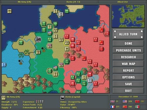 Le potenze alleate si spartiscono il territorio della Germania sconfitta