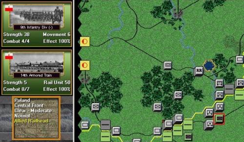 Il reggimento polacco investito dalle forze tedesche. Si mette male!