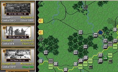 E' fatta, l'attacco ha avuto successo 3 perdite subite contro 20 con possibilità di attaccare ancora il reggimento in ritirata....sfonderemo!!