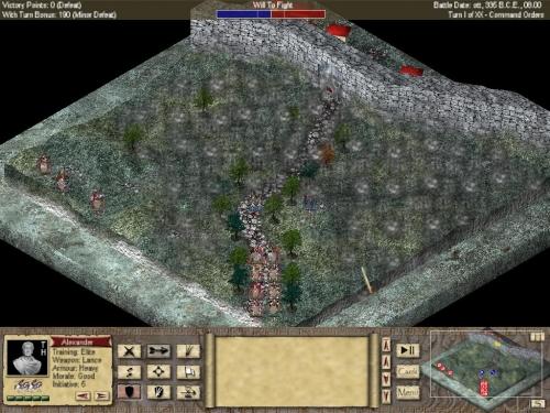 E' possibile allontanare la visuale sino a vedere l'intera area di gioco!