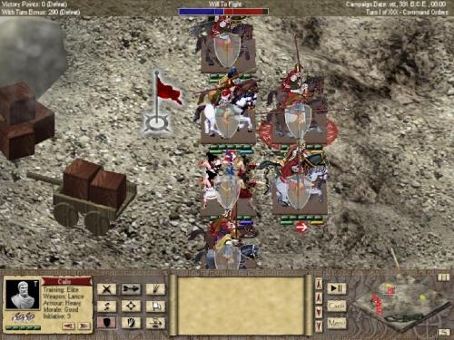 Visuale ravvicinata delle truppe