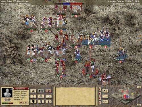 Il campo di battaglia si popola di un gran numero di unità
