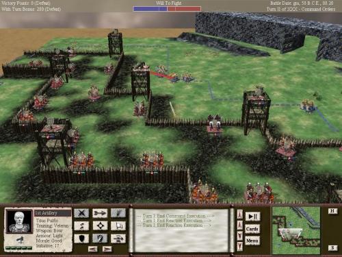 La battaglia di Alesia, la fine della campagna gallica.