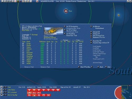 Task Force impiegata in bombardamenti navali