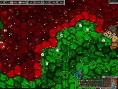Display strategico sovraimpresso alla mappa