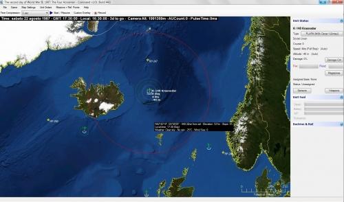 """sottomarini sovietici in pattugliamento nel cosiddetto """"GIUK gap"""", lo stretto fra Groenlandia, Islanda e UK. E' il 1987 e la terza guerra mondiale è appena iniziata!"""