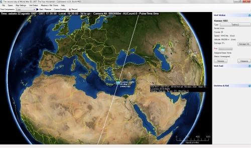 anche i satelliti spia con le loro orbite sono presenti in CMANO