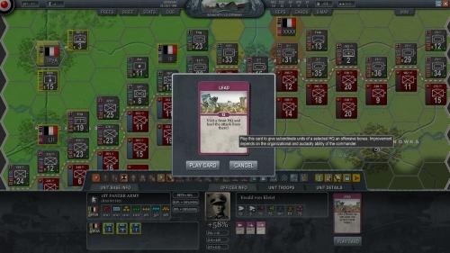 Von Kleist si accinge a guidare personalmente l'offensiva!