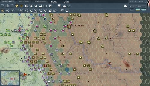 Offensiva tedesca nella primavera del 1942 volta alla distruzione delle forze sovietiche a difesa di Voronez. Lo scenario è molto piccolo (il più piccolo dell'espansione) e dura solo tre turni.