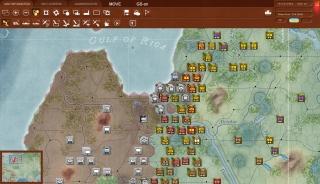 L'orda sovietica è sul punto di liberare Riga nello scenario Retreat from Leningrad.