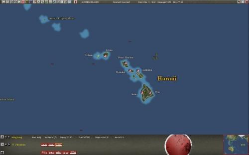 La principale base alleata nel Pacifico: Pearl Harbor.